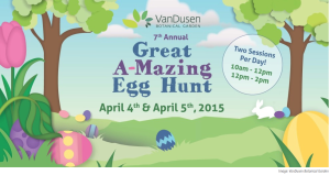 van Dusen easter egg hunt